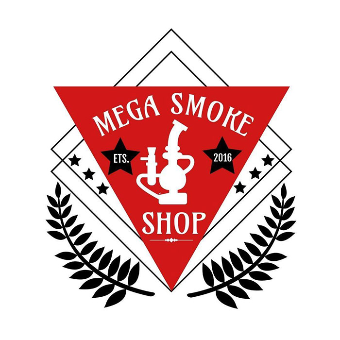 Mega Smoke Shop Logo